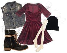 Gypsy Warrior: Outfit of the Day // Velvet Grunge