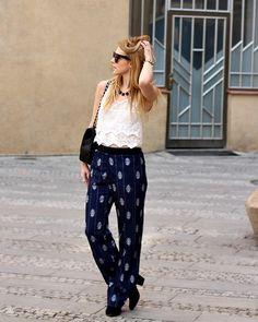 H Pants, Zara Top, Chanel Bag, Celine Sunglasess, Forever 21 Necklace, Bershka Boots