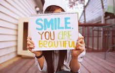 Beautiful Inspirational quotes About Life. Motivation quotes about life. beautiful quotes, beautiful quotes and sayings with images. Inspirational quotes about love I Smile, Make You Smile, Happy Smile, Citations Film, Encouragement, Frases Tumblr, Confidence Boost, Confidence Quotes, Reasons To Smile