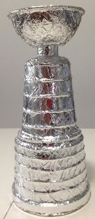 #hockey, mini Stanley Cup! Stick This: DIY Mini Stanley Cup Replica.. some sort of game- make it to the Stanley Cup?!
