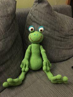 Crochet Mr. Frog