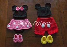 Mickey tejido - Imagui