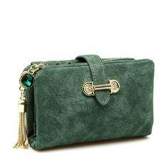e8699c68c8 Leather Tassel Retro Wallet. Appendi BorsaPortafogli Per DonnaPorta Monete NappeBorse