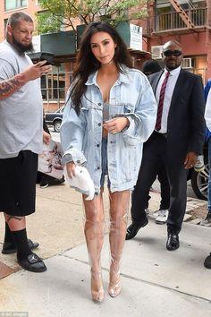 Kim Kardashian wearing La Perla Frames Long-Line Bra