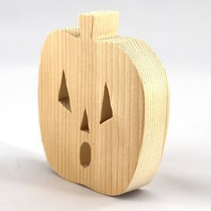 Halloween Jack, Halloween Items, Handmade Wooden Toys, Jack O, Scroll Saw, Wood Toys, Made In America, Made Goods, Pumpkin Carving
