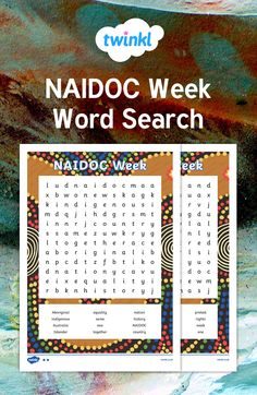 This NAIDOC Week themed word search features key vocabulary for this topic. Great for consolidating spelling, you can use this resource as an opening to other independent writing activities, or just for fun!