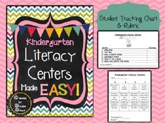 """For the past five years, I've been using the same """"menu"""" format for Literacy Centers and have modified it as I've taught first, second, and third grade. Prior to that, I'd tried every system in the book…stations in the classroom, mobile tubs, wheels, rotated charts, assigned centers…all of which """"worked"""" for the most part, BUT …"""