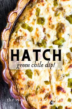 Recipes Appetizers And Snacks, Yummy Appetizers, Appetizers For Party, Dip Recipes, Party Snacks, Green Chili Recipes, Mexican Food Recipes, Chili Dip, Guacamole