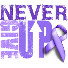 Never Give Up | Relay For Life T-Shirts by INKtastic. 30% of all proceeds are donated to Relay For LIfe.