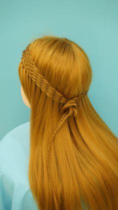 RULeR Hair Dressing makoto ishii - twisted waterfall & fishtail