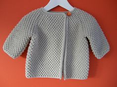 buffoo's Morselle: variation Baby Sweater Knitting Pattern, Baby Boy Knitting, Knitted Baby Cardigan, Knit Baby Sweaters, Knitting For Kids, Baby Knitting Patterns, Knitting Designs, Baby Patterns, Brei Baby