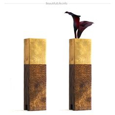 Limited Edition Wood Vases