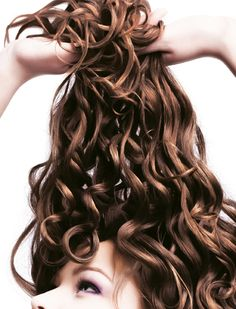 Collistar... I'm willing to try this if my curls could look this lovely and not at all frizzy!