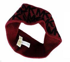 Michael Kors Women s Winter Knit Headband (BLACK WHITE CIRCLE LOGO) at Amazon  Women s Clothing store  291a1d2c080c