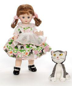 Look at this #zulilyfind! Maggie & Shy Little Kitten Doll Set #zulilyfinds
