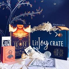 Our reps are seriously the best!! The shot of our October YA Crate by @theliteraryllama is so 😍😍😍! Thank you so much creating such a fun photo! . 🤓 Many people have asked if we have any of our past crates available and the answer is YES. In our 👉🏽SHOP👈🏽 you can find all our past crates. I'm working today to add the last product, which is this October YA Crate and then the shop will be up to date 💃🏼! Shop items are our #1 gift item purchased which makes total sense since they make…