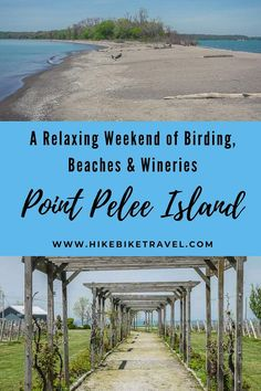 A relaxing weekend of birding, beaches, cycling & winery visiting on Point Pelee Island Discover Canada, Ontario Travel, Travel Flights, Canadian Travel, Visit Canada, Slow Travel, Island, Africa Travel, Weekend Getaways