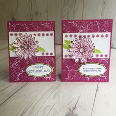 Stampin' Up! Sneak Peek card made with Berry Burst and Daisy Delight