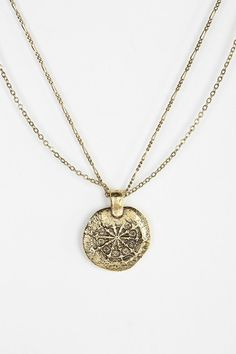 Ancient Coins Necklace| urbanoutfitters $20