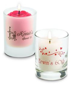 Personalized Votive Candle Holderses, Votive Candle Holders Favors
