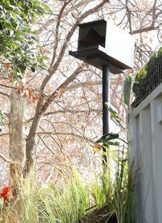 Owl house - conservation and natural pest control