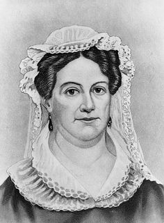 """Portrait: Rachel Jackson, by John Chester Buttre. Credit: U.S. Library of Congress, Prints and Photographs Division. Read more on the GenealogyBank blog: """"Did I Know That? Unparalleled Shock & Grief in 1828."""" https://blog.genealogybank.com/did-i-know-that-unparalleled-shock-grief-in-1828.html"""