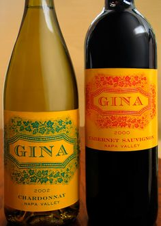 Private brand wine packaging design for BevMo, Gina.