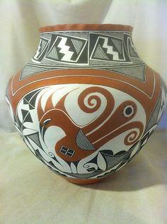 Acoma Pottery by Adrian Trujillo