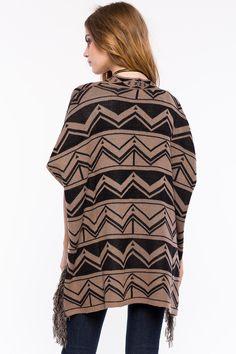 Кардиган Размеры: S, M, L Цвет: коричневый, черный с принтом Цена: 1802 руб.     #одежда #женщинам #кардиганы #коопт