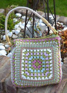 Atelier Marie-Lucienne: Quick & Easy Crochet Bag / Eine Häkeltasche, einfach und schnell