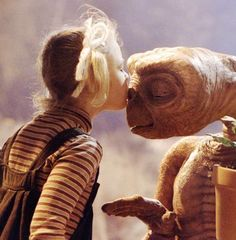 E.T. - best movie kiss