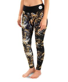 Another great find on #zulily! Pittsburgh Steelers Leggings - Women by Forever Collectibles #zulilyfinds