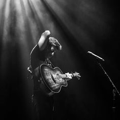 My guitar looks like magic in this. Oh man