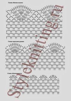 crochelinhasagulhas: Blusa de crochê com variações