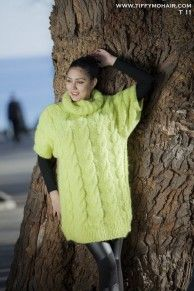 Catalogue Made to Order : New TIFFY Mohair Cowl Neck Sweater Dress ...