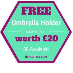 FREE Umbrella Holder worth 20 - https://ift.tt/2rXspvp