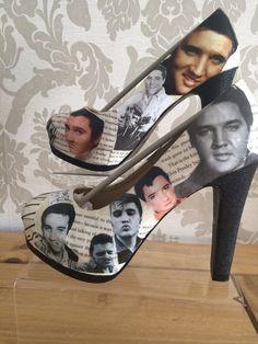 Canada Goose victoria parka online shop - Yeah baby! Elvis High Heels via Etsy | Shoe-La-La! | Pinterest ...