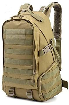 Unlike similar products on the market, this multipurpose outdoor backpack comes with a padded back and sturdy adjustable straps, providing a comfortable wear for anyone! Army Rucksack, Tactical Backpack, Camouflage, Hunting Backpacks, Camo Bag, Range Bag, Anti Theft Backpack, Outdoor Backpacks, Backpack Travel Bag