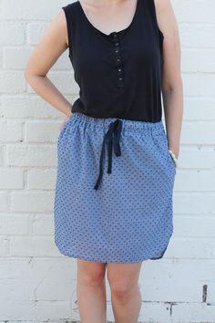 Baseball Skirt PDF Pattern   Sew DIY