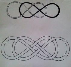 infinity symbol tattoos symbols tattoos and infinity symbol on pinterest. Black Bedroom Furniture Sets. Home Design Ideas