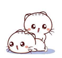 LINE Creators' Stickers - Wen small meow 5 Example with GIF Animation Cute Cartoon Images, Cute Love Cartoons, Cartoon Gifs, Cute Love Pictures, Cute Love Gif, Cute Cat Gif, Cute Bear Drawings, Cute Cartoon Drawings, Chibi Cat