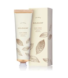The elegant floral fragrance of Thymes Goldleaf transforms this non-greasy hand cream into an elaborate work of art. Indulge in a moment of luxury on-the-go with this fan-favorite formula, beloved by fans for decades. 3 FL OZ / 90 ML Perfume Diesel, Best Perfume, Skincare Packaging, Cosmetic Packaging, Skincare Dupes, Perfume Fahrenheit, Perfume Invictus, Cosmetic Design, Honey