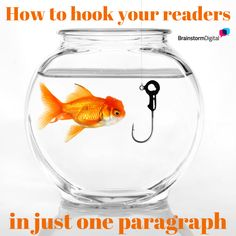A great opening is crucial for your blog posts! Here's how to hook your readers in your very first paragraph
