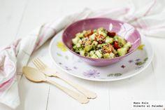 Lunes sin carne. Las ensaladas de arroz son frescas e ideales para el verano.