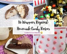 These homemade candy recipes are sweet indeed! From copycat recipes of your favorite sweets to classic treats, these recipes for candy are easy to make. Fudge Recipes, Candy Recipes, Copycat Recipes, Holiday Desserts, Easy Desserts, Classic Candy, Marshmallow Treats, Caramel Candy, Homemade Candies