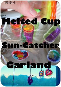 This week my kids were pretty obsessed with a melted cup art project that we did.  They wanted to keep making them all week long. It was easy and fun to make, so I thought it would be a great thing to share with you guys.  We thought that they were so pretty that they …