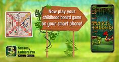 Now play your childhood board game on your smart phone! #familygame #boardgame #gameforall #snakesandladders #onlinegame #offlinegame #mobilegame Board Game Online, Offline Games, Classic Board Games, Family Board Games, Played Yourself, Ladders, Mobile Game, Snakes, Smartphone