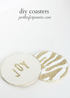 Kate Spade Inspired Coasters - Parties for PenniesParties for Pennies