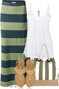 """""""Mixing Stripes"""" by styleofe on Polyvore"""