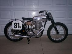 bsa trackers   67' desert sled built from spare parts around the shop.